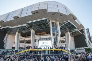 The Sacramento Kings hosted a ribbon-cutting ceremony for Golden 1 Center on Sept. 30.