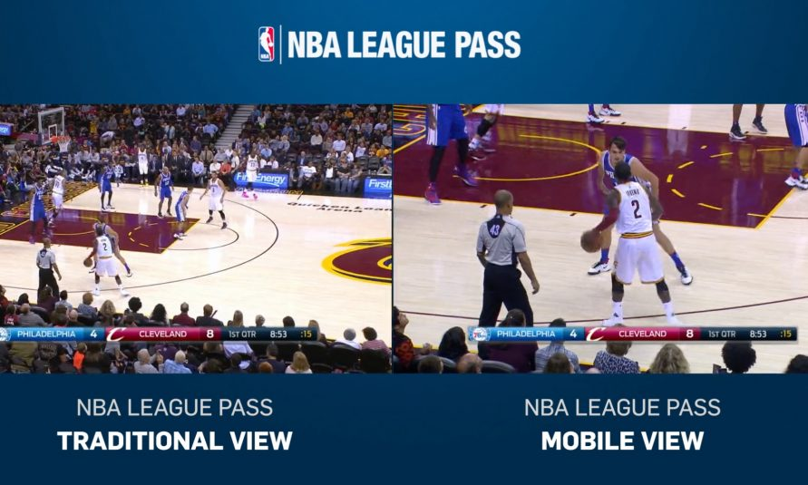 NBA Installs Extra Camera, Adds Dedicated Producer to Each Game for New 'NBA Mobile View' Feature