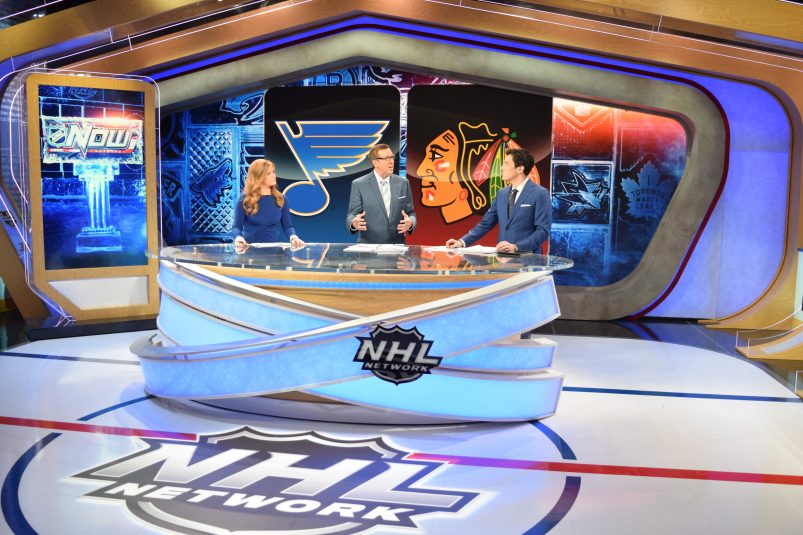 The Rink is key to NHL Network's year-round programming.