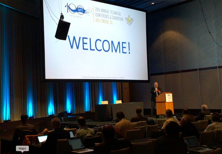 SMPTE celebrated its 100th anniversary at this year's SMPTE conference in Hollywood.