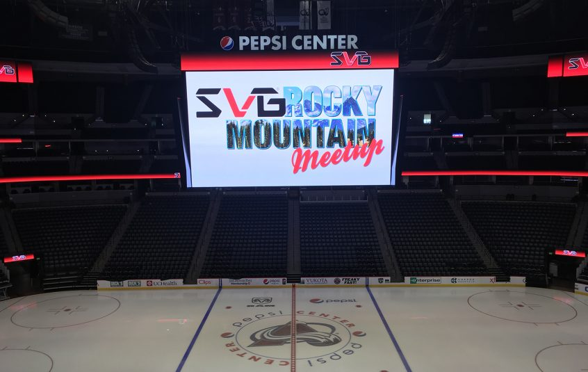 SVG took over Pepsi Center on Wednesday for the third SVG Rocky Mountain Meet-Up.