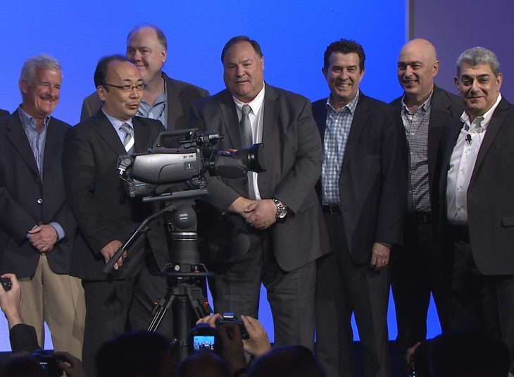 The unveiling of Sony's HDC-4300 camera at NAB 2015 featured a number of sports production's biggest names, who helped Sony shape the product's capabilities.