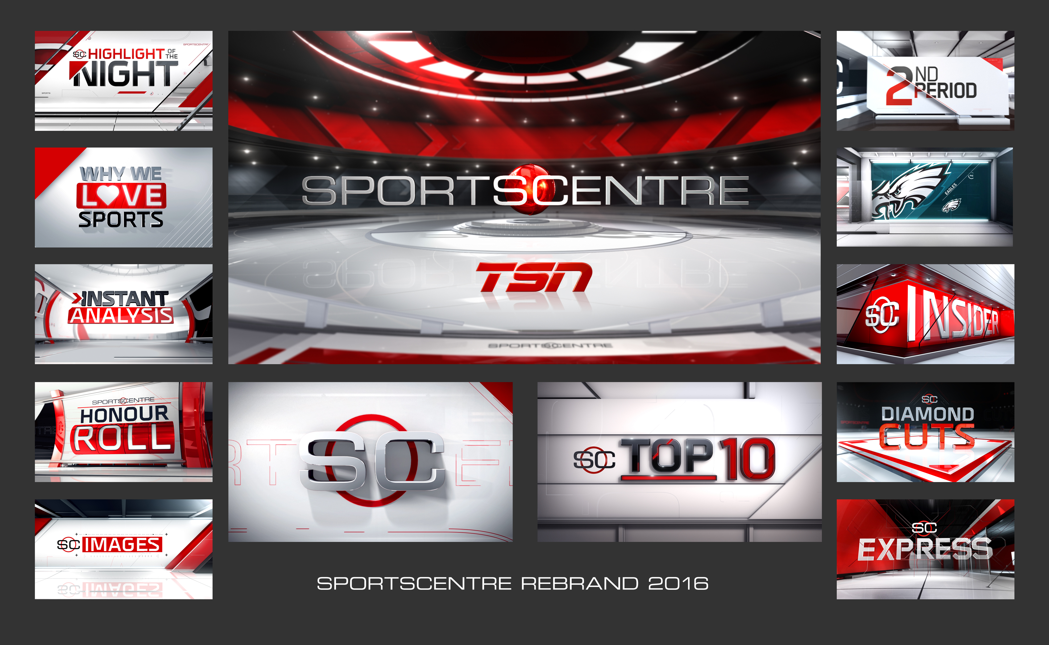 TSN Unveils All-New Sportscentre Graphics and Animation Package