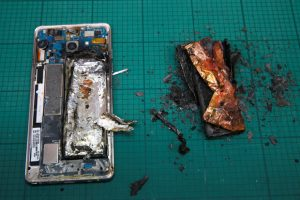The ripple effect from the Samsung Galaxy Note 7 battery may have adverse effects on the TV production community's ability to ship equipment.