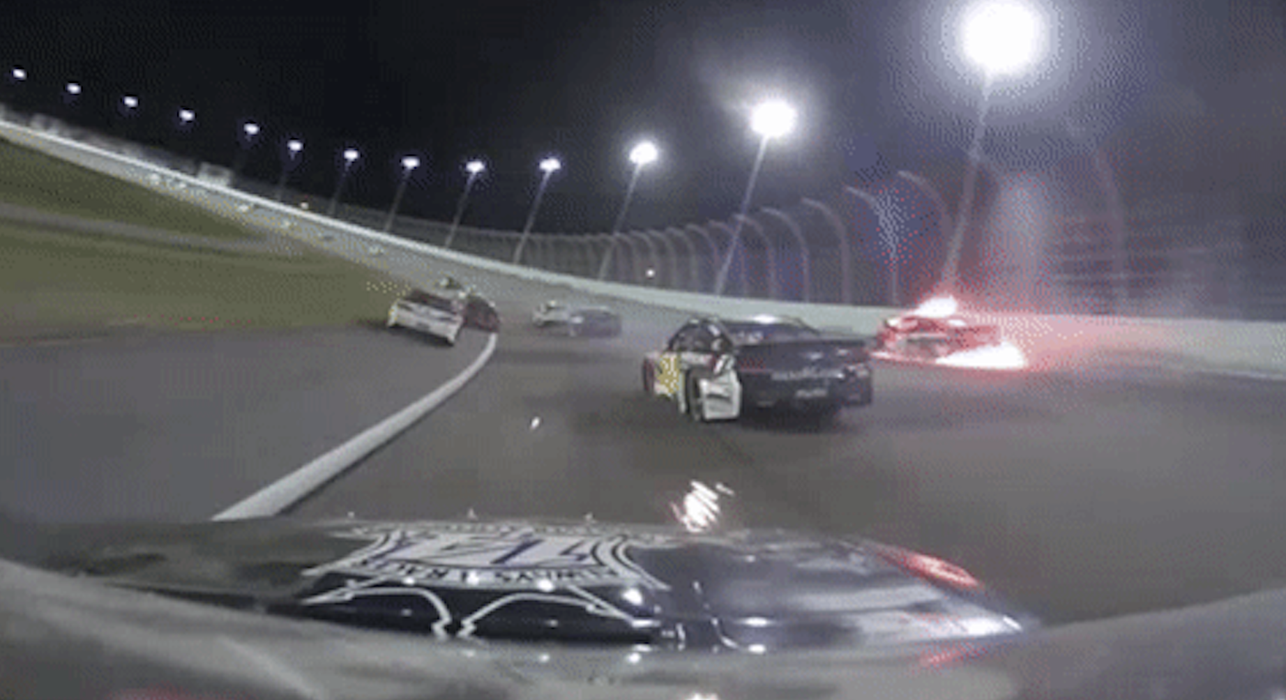 NASCAR produced a live feed of the on-board cameras from Tony Stewart's car during the final race of the NASCAR Sprint Cup season earlier this month that aired on Facebook Live and NASCAR's digital platform NASCAR Drive.