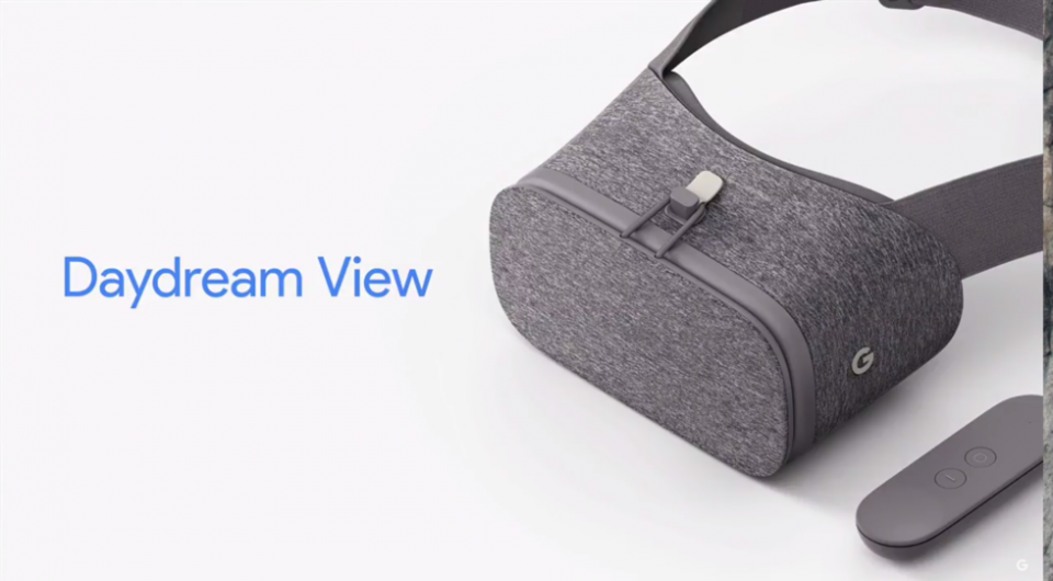 Daydream View will be available November 10th on the Google Store