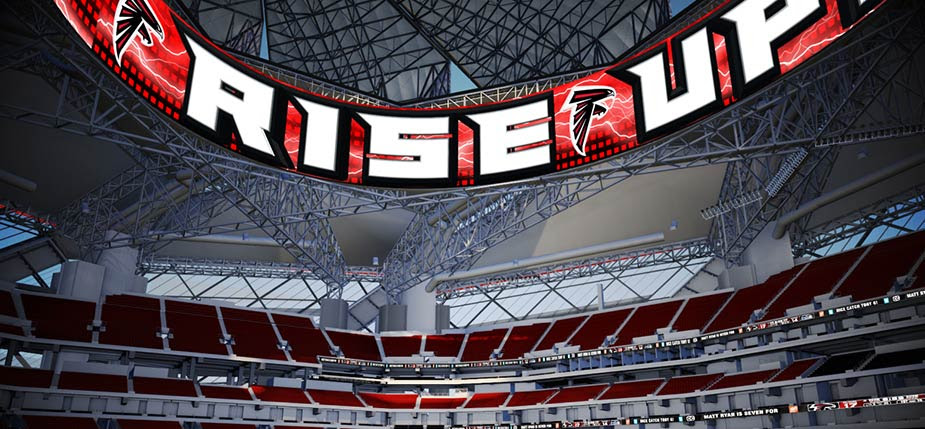 Daktronics Falcons Mercedes-Benz Stadium