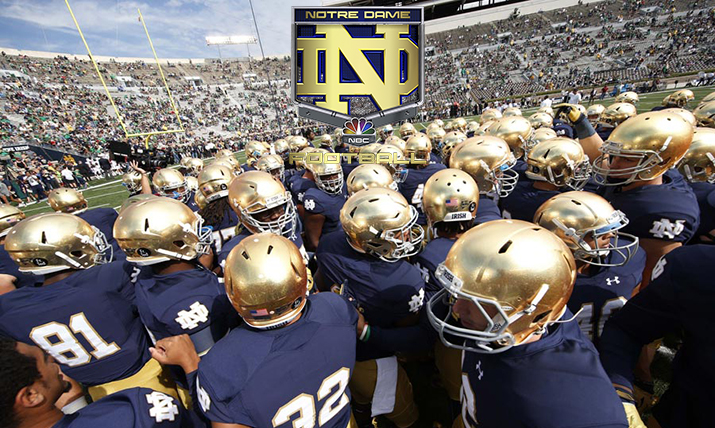 Inside NBC Sports Group's Historic Notre Dame 4K/UHD Productions