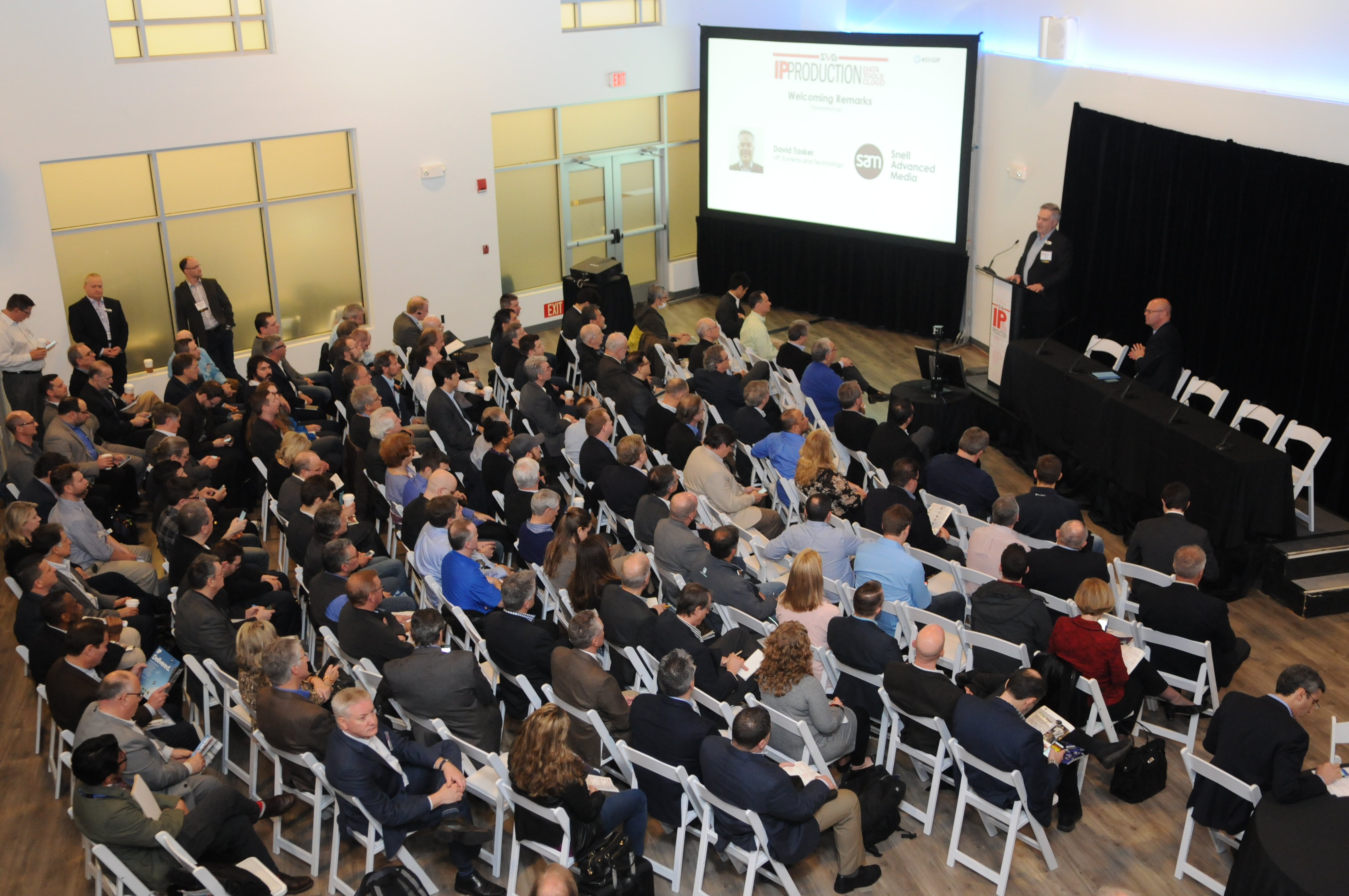 At SVGs Second Annual IP Production Forum On March 1 More Than 250 Attendees Visited NBC Sports Groups Stamford CT State Of The Art Broadcast Center