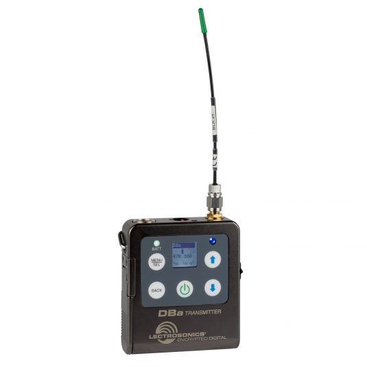 Lectrosonics' DBa transmitter offers AES encryption.