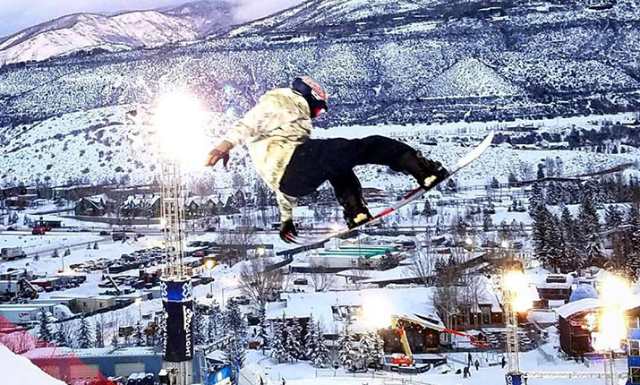 ESPN's coverage of the 21st Winter X Games begins Thursday night from Buttermilk Mountain. Photo courtesy of Echo Entertainment