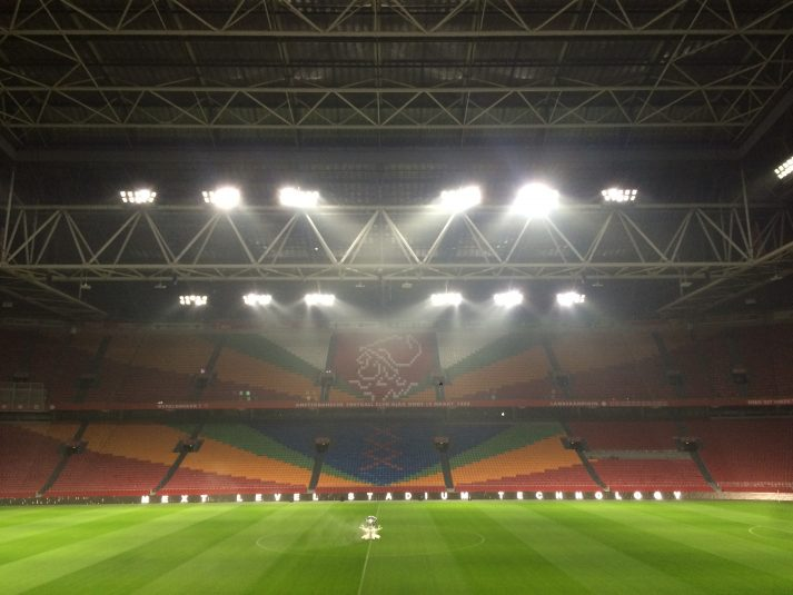 Philips' ArenaVision LED sports-pitch lighting system allows specific parts of the pitch to be illuminated.