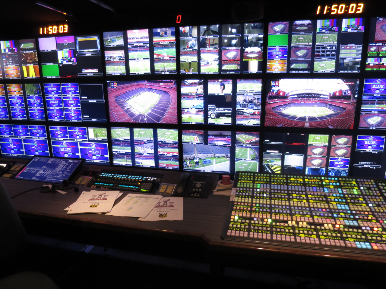 The front bench in Game Creek's Encore unit will be at the center of the sports world on Sunday night.