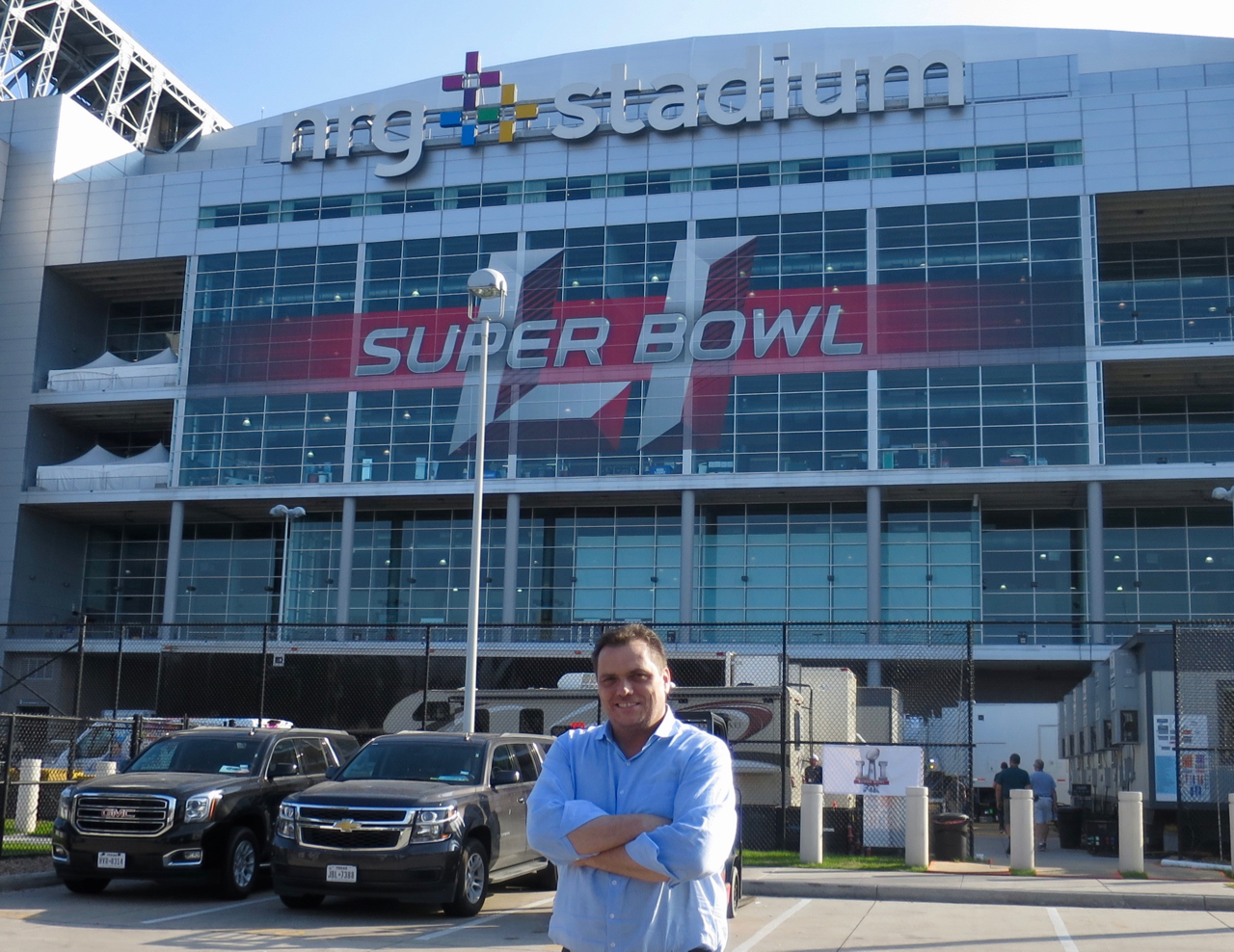 Mike Davies says Super Bowl planning is going well two days before the big game.