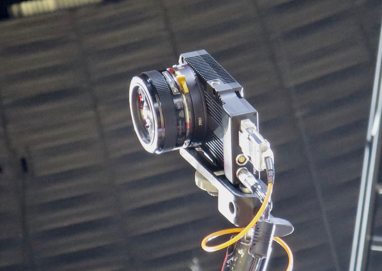 Bexel's Clarity 800 camera was mounted behind one of the backboards for the NBA D-League All-Star game in New Orleans.