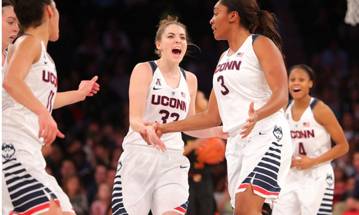 The UConn Women's Basketball team shoots for 100 straight wins on Monday night (9 p.m. ET, ESPN2).