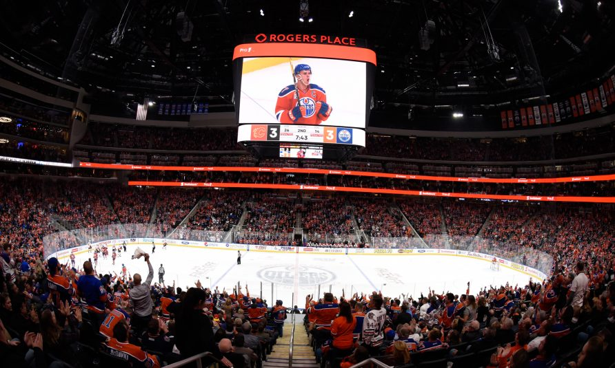 Edmonton Oilers Embark on Rogers Place Era With NHL's Largest Videoboard