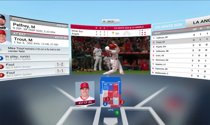 MLBAM To Launch At Bat VR App for Google Daydream on June 1