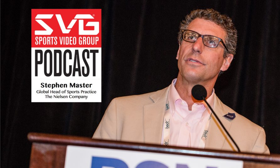 <i>The SVG Podcast:</i> Stephen Master, Global Head of Sports Practice, The Nielsen Company