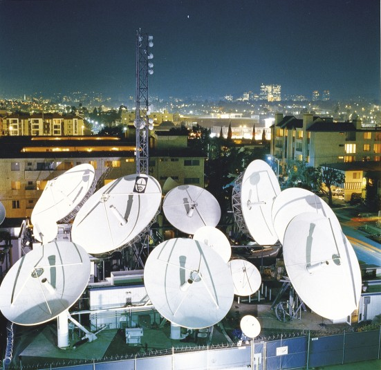 The new Globecast teleport in Los Angeles