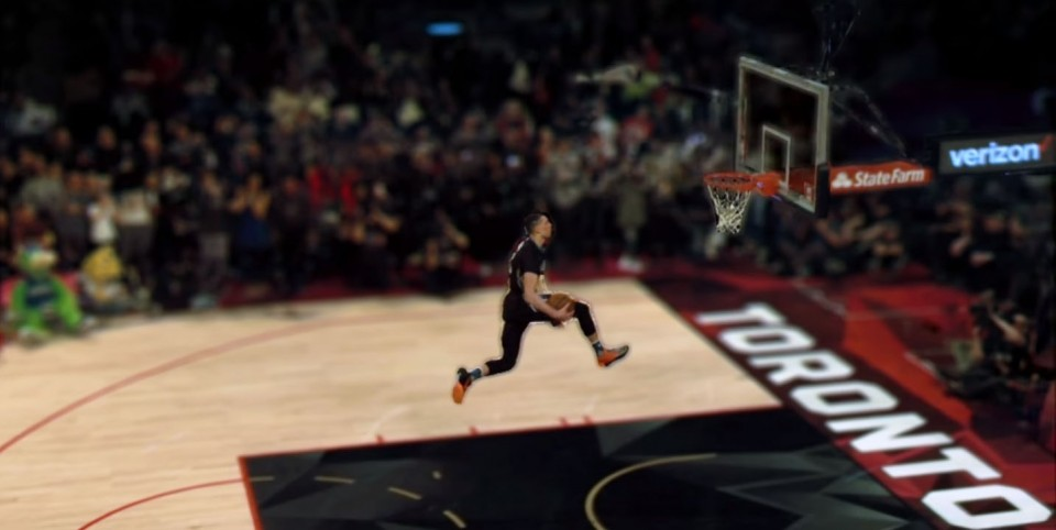 Replay Technologies' freeD system was utilized last month at the NBA All-Star Game in Toronto.