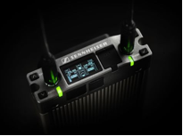 The EK 6042 two-channel receiver works with Sennheiser analog and digital transmitters, as well as in mixed operation.