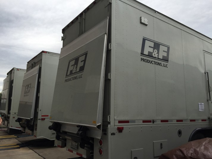 F&F Productions' GTX-17 is serving as the primary production truck for the main national broadcasts airing on TBS at Final Four. GTX-11 and GTX-12 host the team-specific TeamStream shows.