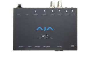 AJA is making the jump into streaming products with the Helo.