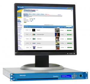 Tektronix has enhanced its Sentry video quality monitors tailored to the needs of broadcasters.