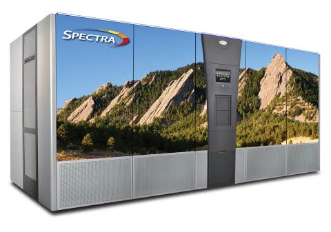 spectra logic library