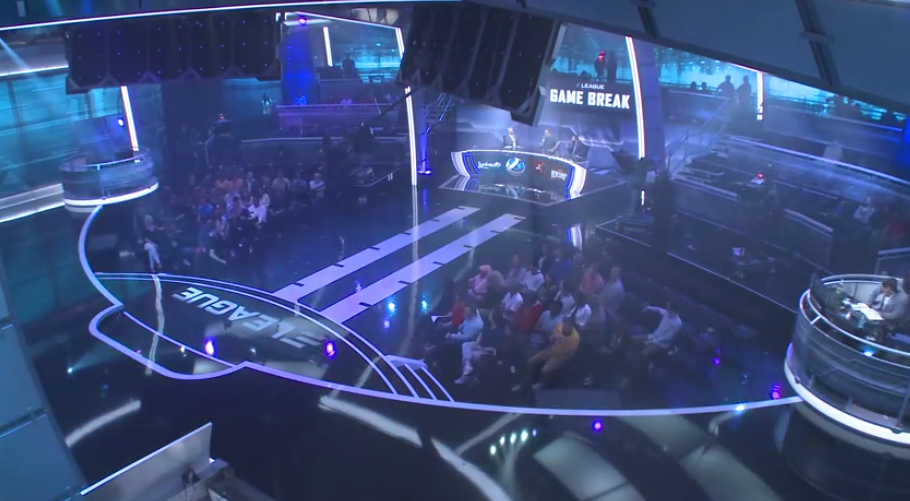 VIDEO: Time lapse video of the new ELEAGUE studio as it was built.