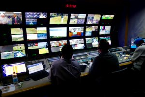 CTV OB7 is home to the Golf Channel production team at the Open Championship.