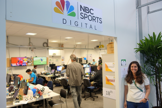 Lyndsay Signor of NBC Sports says social media efforts for the games are paying off.