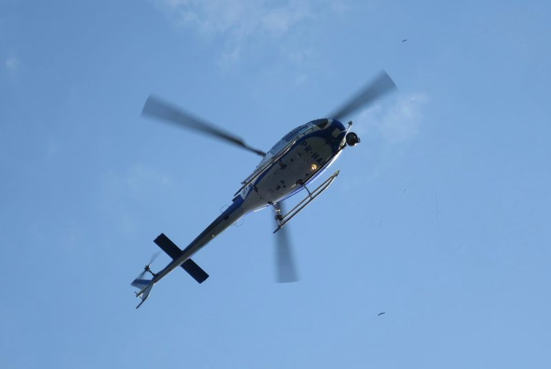 Gyrostabilized shots from helicopters helped cycling fans stay on top of the action for the two road races this past weekend.