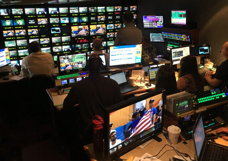 NBC rolled in NEP's NCPII mobile unit to serve as the control room for tennis on Bravo.