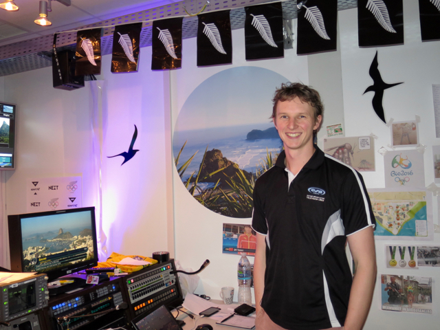 Matt Lamb of Sky New Zealand subsidiary Outside Broadcasting is overseeing technical operations.