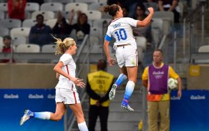 If the ratings for the U.S. women's soccer opener at the Olympics are any indication of what lies ahead NBC Olympics is in for a ratings bonanza.