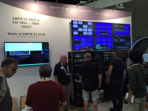 The IP Interoperability Zone gave IBC attendees a hint at a future with full interoperability for IP-based production.