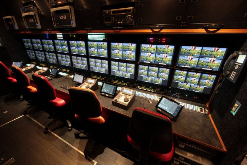 Madison houses three12-channel EVS XT3 replay servers.