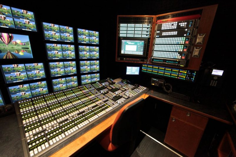 Madison features a 9M/E Grass Valley Kayenne K-Frame switcher.