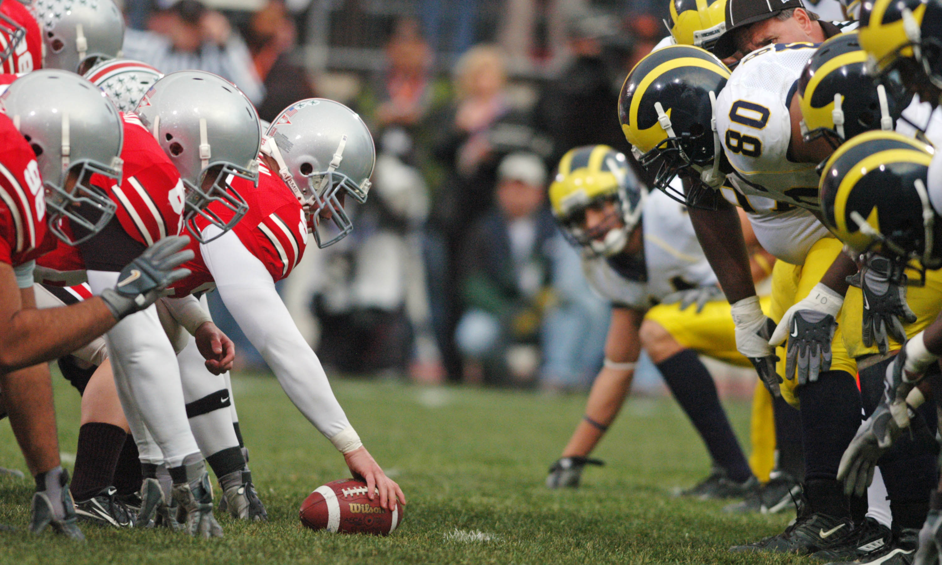 Learn all about The Game Ohio State vs Michigan year by year results gold pants some classic games and more