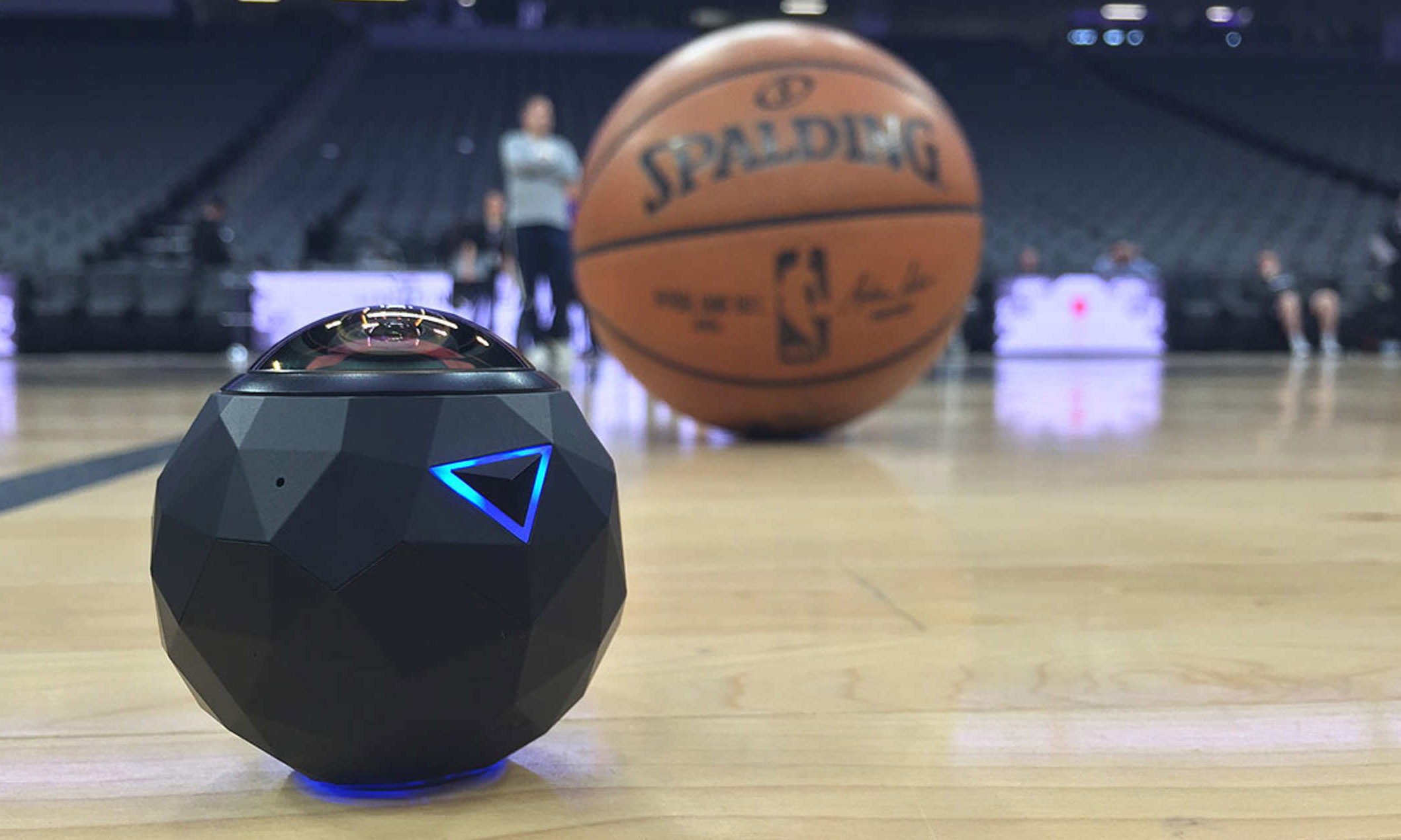 The Sacramento Kings' digital team used 360fly camera technology to produce its Facebook Live 360 show.