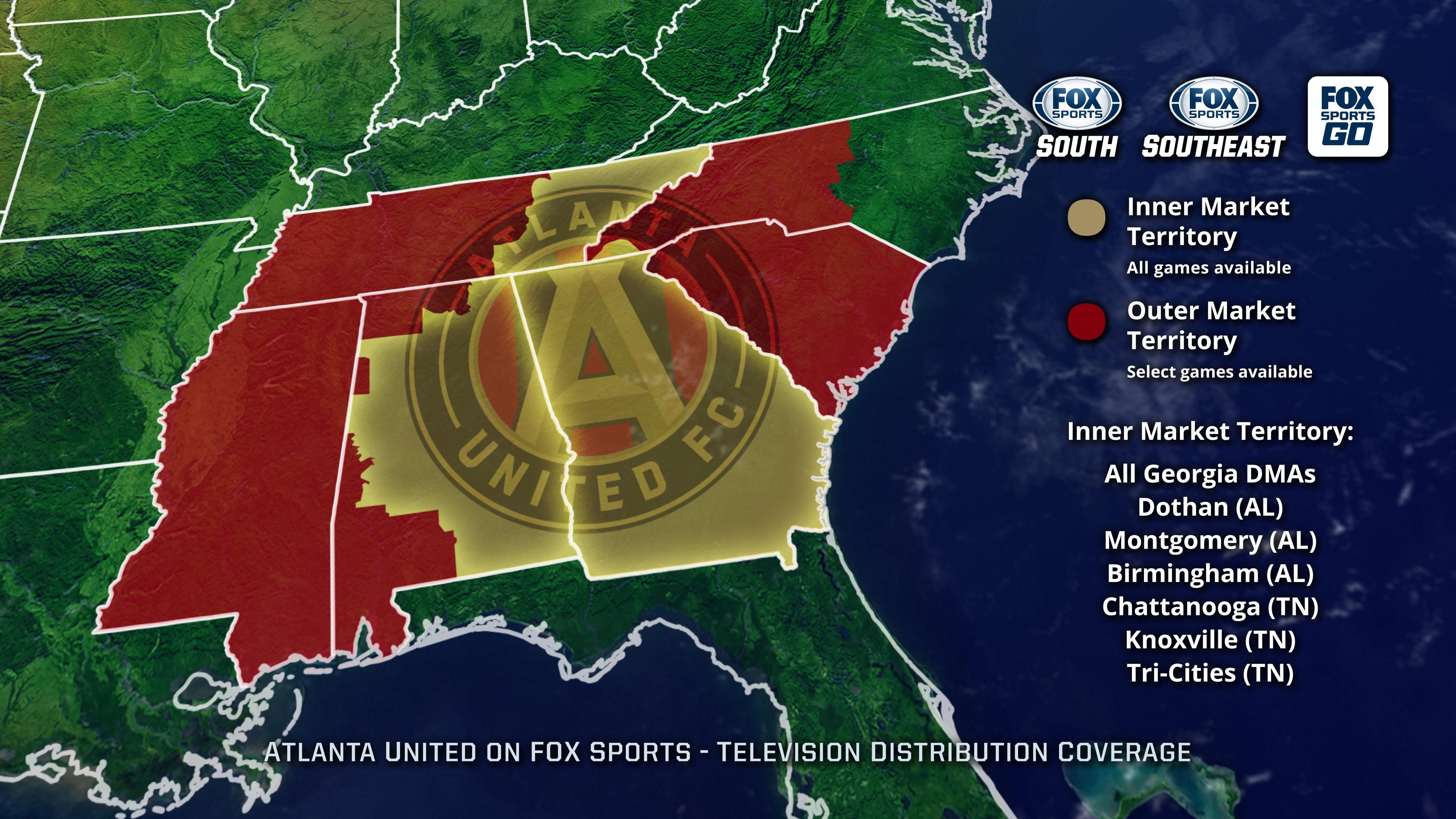 new mls club atlanta united fc finds rsn home with fox sports south  fox sports southeast