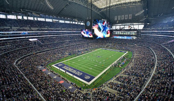 Dallas Cowboys Pave Way To 4k Future With Canon Grass