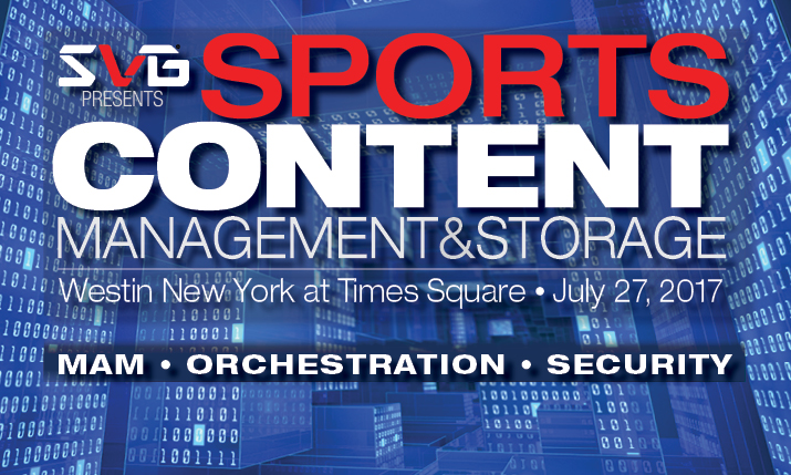 2017 Sports Content Management and Storage