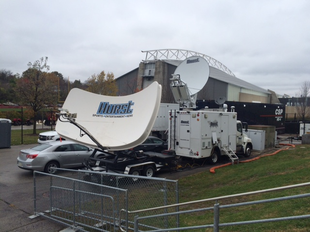 Satellite Antennas Uplink Trucks For Sale By Hurst Usa