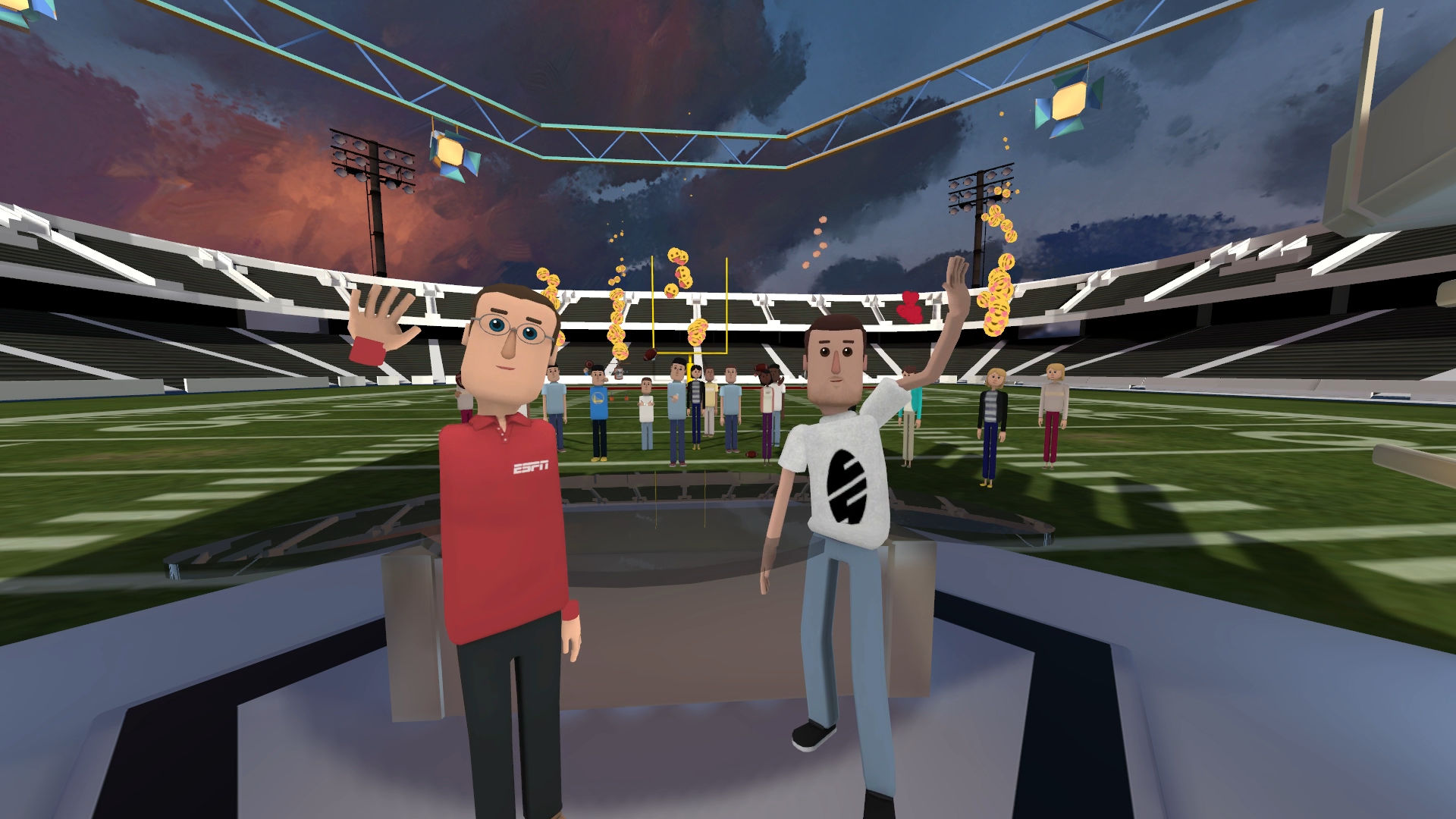 ESPN Offers Football Fans a VR Interview With Kansas City