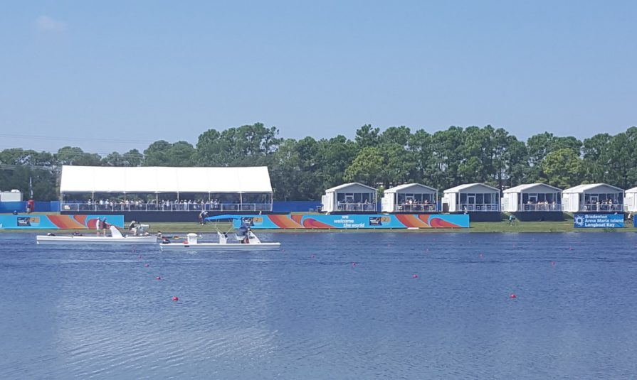 NEP Gets Creative With Drone, Cineflex Cams at FISA World Rowing Championships