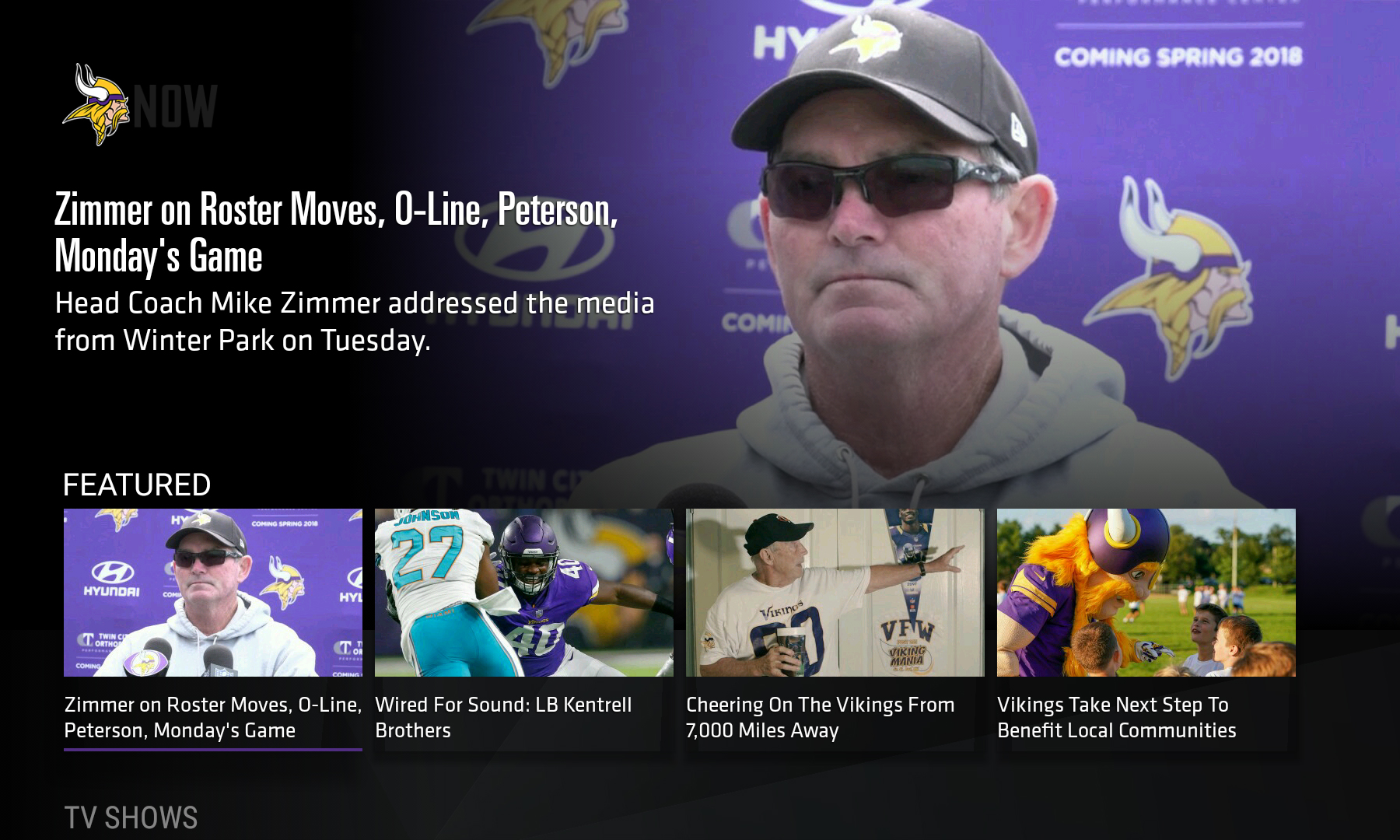 0578b2bd8ea The Minnesota Vikings Launched a Connected-TV App. Here s What They ...