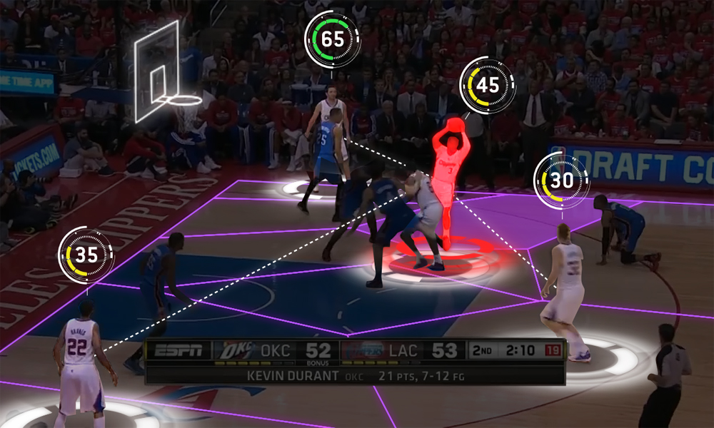 Machine Learning, AR, VR, and the Future of Sports